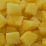 pineapple chunks football food