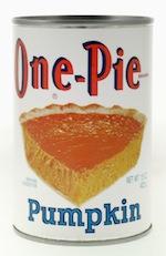 One Pie Pumpkin