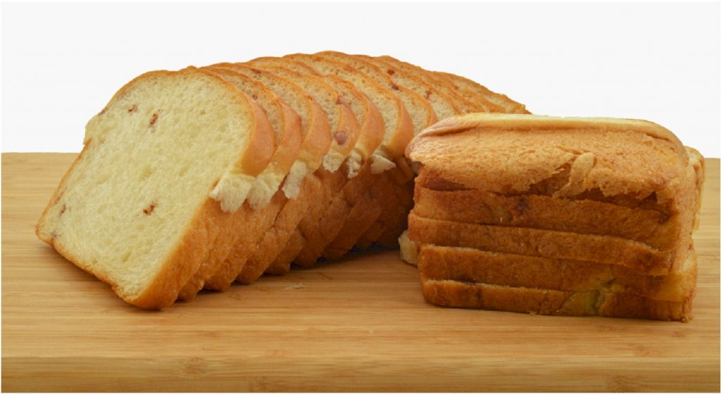 French Toast Loaf Sliced