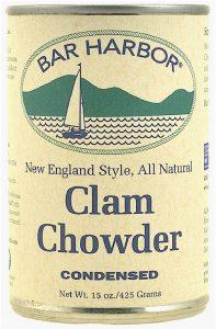 Bar Harbor Clam Chowder